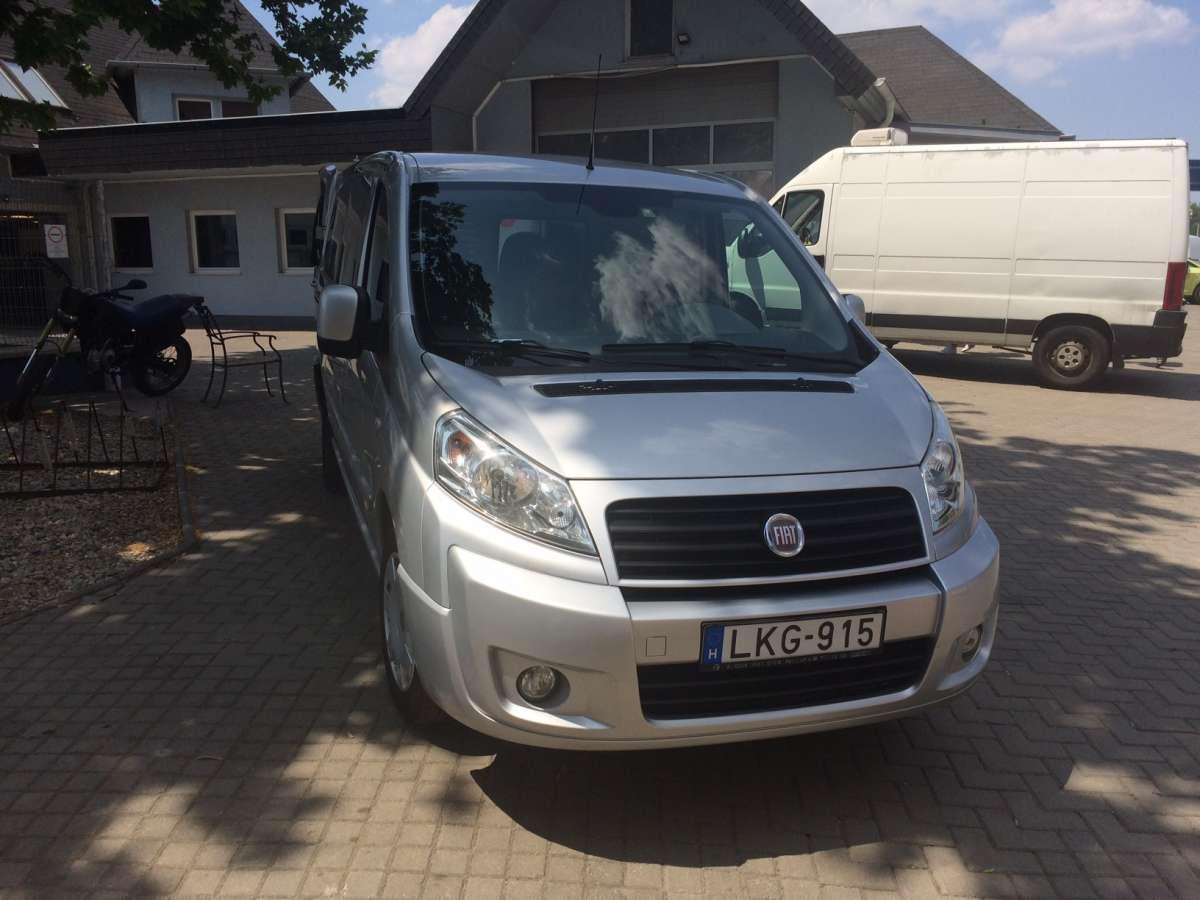 Fiat Scudo 270 olcsó kisteherautó bérlés Győrben